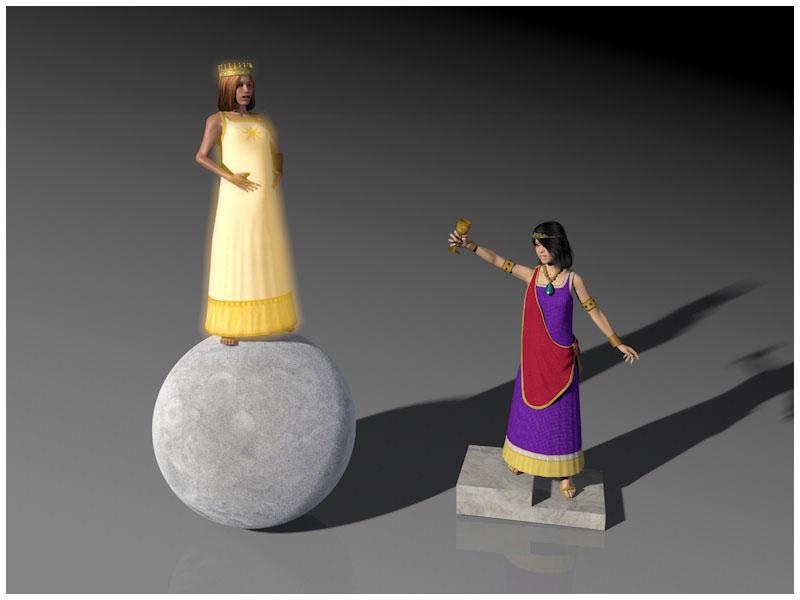 THE TWO WOMEN OF REVELATION-LAS DOS MUJERES DE APOCALIPSIS